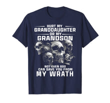 Load image into Gallery viewer, Hurt My Granddaughter or My Grandson T-Shirt gift