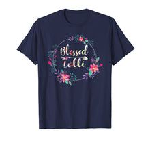 Load image into Gallery viewer, Blessed Lolli T-Shirt With Floral, Heart Mother's Day Gift