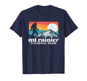 Mount Rainier National Park Bigfoot Mountains T-Shirt