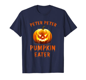 Peter Peter Pumpkin Eater Couples Halloween Costume Shirt