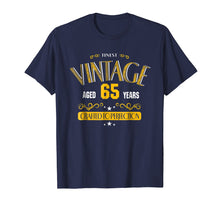 Load image into Gallery viewer, 65th Birthday Shirt Gift -AGED 65 Years Old Gag Birthday Tee