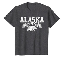 Load image into Gallery viewer, Alaska T-Shirt Bear Tshirt Cold Winter Snow Mountains Tee
