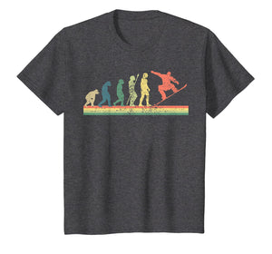 Snowboard T-Shirt Evolution Tshirt Winter Sports Tee Gift
