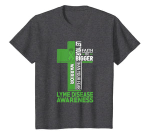 Lyme Disease Awareness Warrior Cross T Shirt
