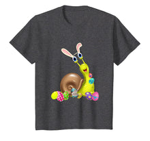 Load image into Gallery viewer, Snail And Bunny Rabbit Hat Easter Eggs Happy Day T Shirt