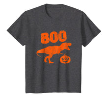 Load image into Gallery viewer, T Rex Dinosaur Pumpkin Unique Funny Halloween T Shirt