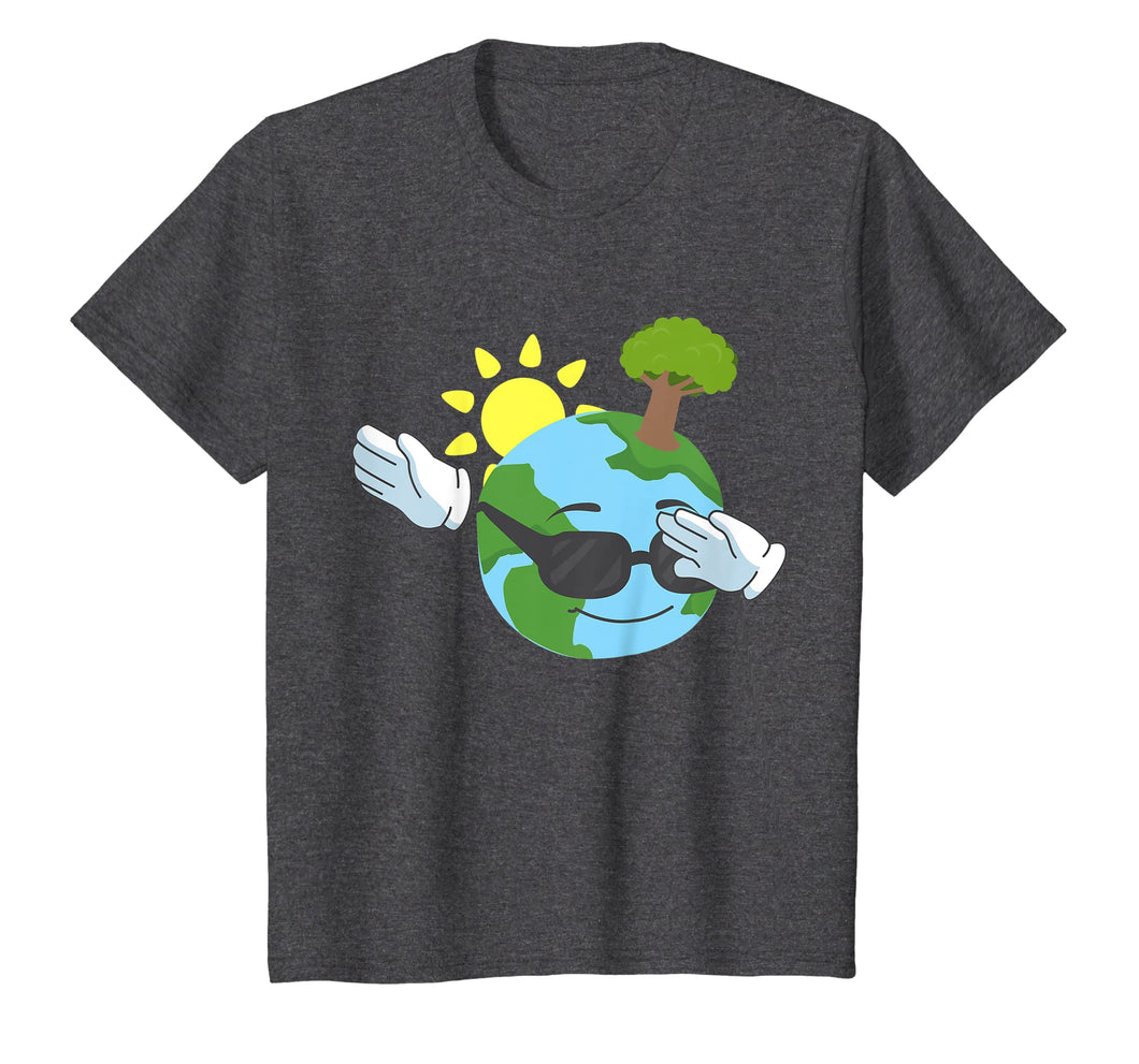 Cool Dabbing Earth Day Tshirt for Kids and Toddlers