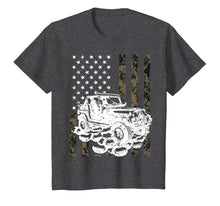 Load image into Gallery viewer, Jeeps T Shirt Camouflage American Flag Birthday Gift T-Shirt