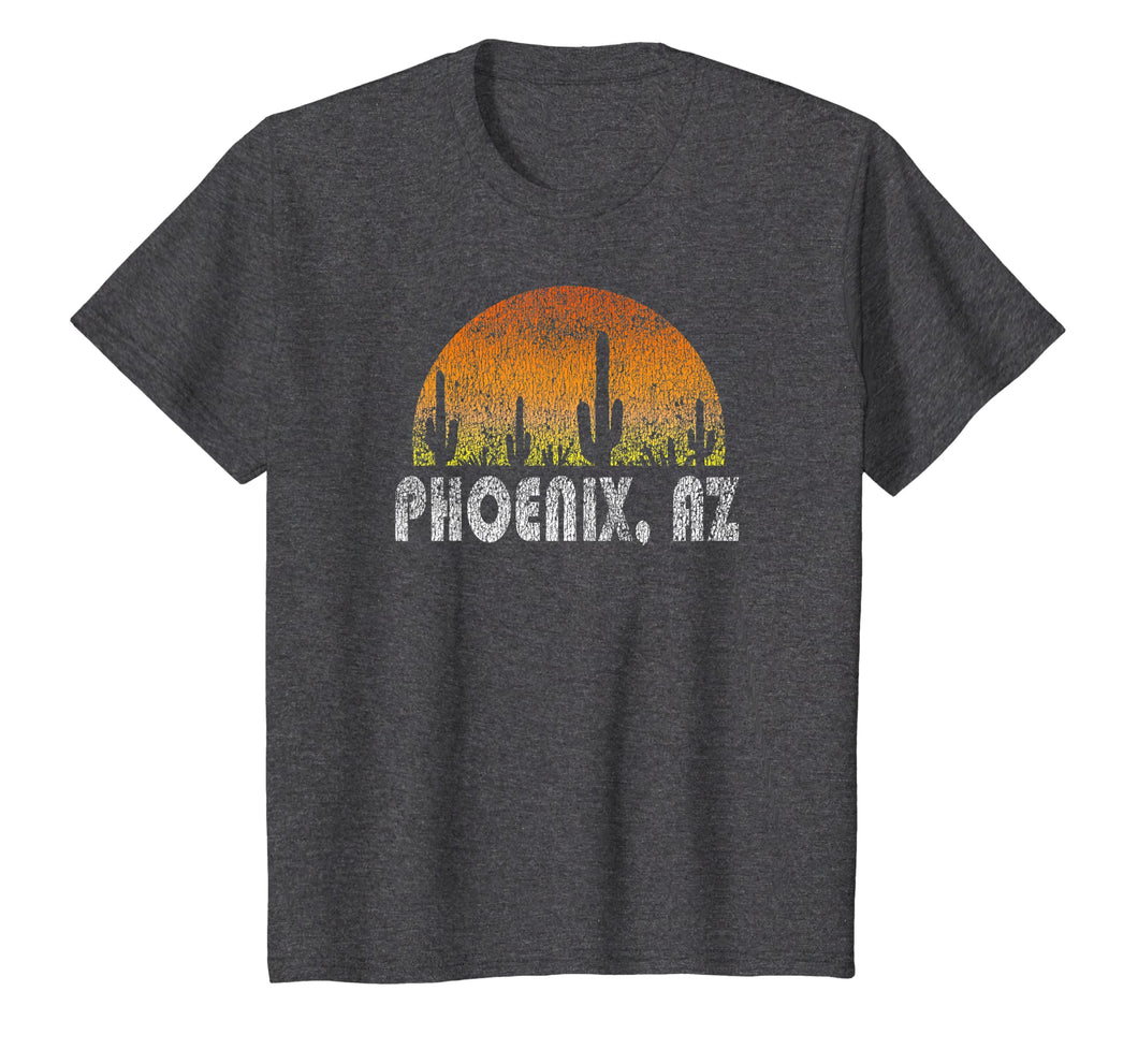 Retro Phoenix Arizona Desert Sunset Vintage T-Shirt