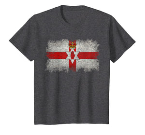 Vintage Northern Ireland The Ulster Banner Flag T-Shirt