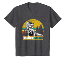 Load image into Gallery viewer, Brothersaurus T Shirt T Rex Brother Saurus Dinosaur Mom Dad