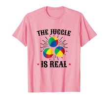 Load image into Gallery viewer, Juggling T-Shirt for People who Jugglers The Juggle is Real