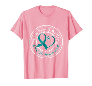 PCOS Awareness Shirt Polycystic Ovarian Syndrome More Story