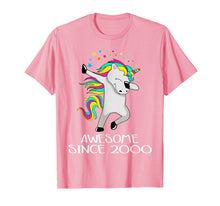 Load image into Gallery viewer, Unicorn 19 Years Old 19th Birthday Girl T-Shirt 2000 Dabbing