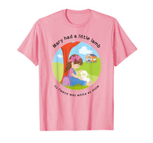 Load image into Gallery viewer, Mary had a Little Lamb English Nursery Rhyme Theme T-Shirt