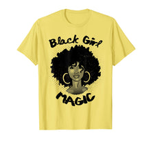 Load image into Gallery viewer, Black Girl Magic Shirt History Month African Heritage Tee