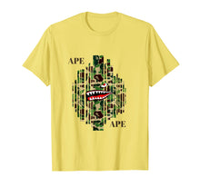 Load image into Gallery viewer, ape Camo bathing Tshirt 2018 designer adult kids T