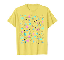 Load image into Gallery viewer, Retro Vintage Memphis Pattern T-Shirt 80s and 90s Tee
