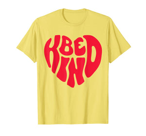 Be Kind Anti Bullying Inspirational Kindness Retro Vintage T-Shirt