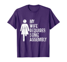 Load image into Gallery viewer, Amputee Humor Wife Assembly Leg Arm Funny Recovery Gifts T-Shirt