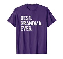 Load image into Gallery viewer, Best Grandma Ever Gift T-Shirt