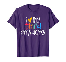 Load image into Gallery viewer, 3th Grade Teacher Shirts - I Love My Third Graders
