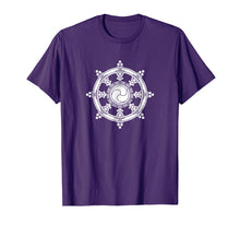 Load image into Gallery viewer, Dharma Wheel Buddhist Meditation Yoga Buddha T-Shirt