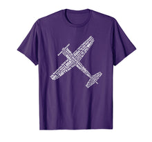 Load image into Gallery viewer, Aviation phonetic alphabet pilot flying shirt