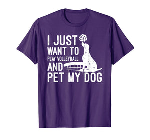 Dog Volleyball Shirt Volleyball Gifts For Players