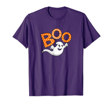 Load image into Gallery viewer, Boo Halloween T-Shirt With Ghost
