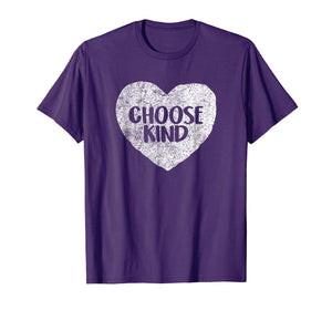 Anti Bullying Choose Kind Shirt Teacher T-Shirt Heart Helmet