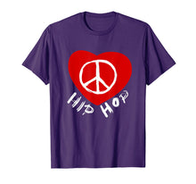 Load image into Gallery viewer, Love Peace Hip Hop Dancing Shirt for Dancers