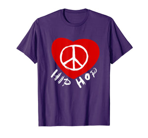 Love Peace Hip Hop Dancing Shirt for Dancers