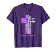 Load image into Gallery viewer, Pancreatic Cancer Awareness Cross Warrior Shirt