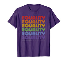Load image into Gallery viewer, National Pride March Shirt Vintage Rainbow LGBT Equality