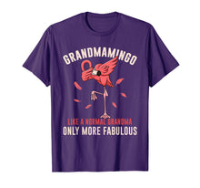 Load image into Gallery viewer, Dabbing Flamingo Shirt Grandmamingo Like A Nomal Grandma