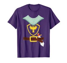 Load image into Gallery viewer, Knight In Shining Armor Sword Suit Halloween Costume TShirt