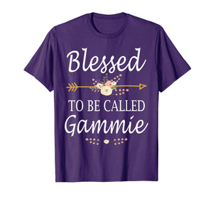 Blessed To Be Called Gammie Mothers Day Gifts T-Shirt