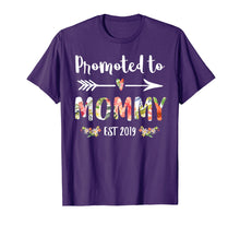 Load image into Gallery viewer, Promoted to Mommy Est 2019 Mom New Mama To Be T-Shirt