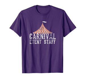 Carnival Event Staff T-Shirt Circus Tent Distressed Tee