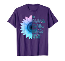 Load image into Gallery viewer, sunflower thyroid cancer shirt
