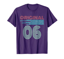Load image into Gallery viewer, Retro Vintage Original 06 13th Birthday Men Women Gift T-Shirt