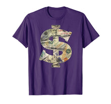 Load image into Gallery viewer, Dollar Sign Cool Money T-Shirt - $ T-shirt