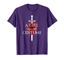 Load image into Gallery viewer, A Girl Has No Costume Halloween Shirt Needle Blood Graphics
