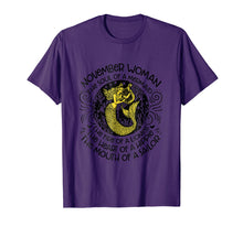 Load image into Gallery viewer, November Woman The Soul Of A Mermaid T-shirt Gift For Women