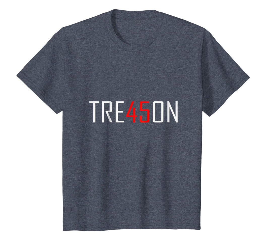 Anti Trump Tre45on T-Shirt Treason 45 Teemerch