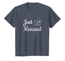 Load image into Gallery viewer, Just Married Life Married Couple Newlywed Matching T Shirt