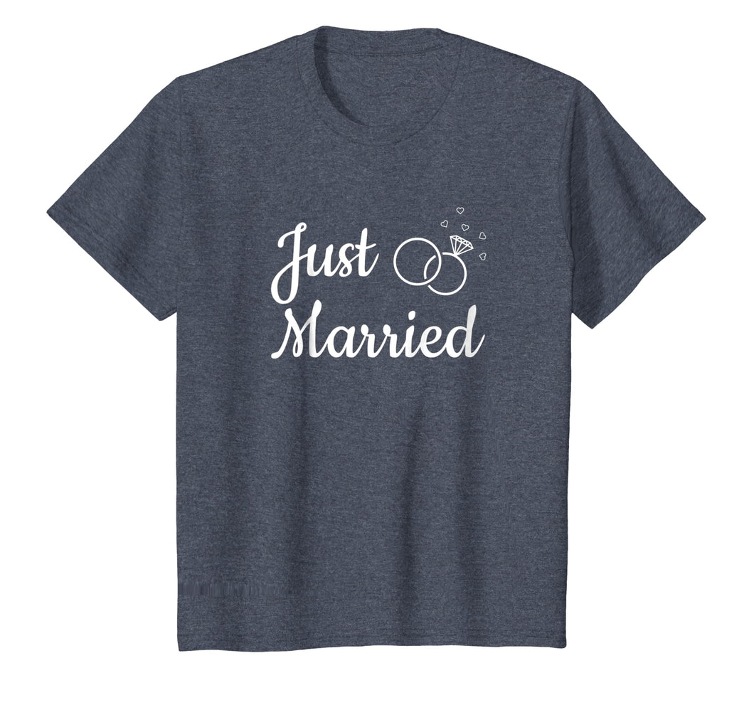 Just Married Life Married Couple Newlywed Matching T Shirt