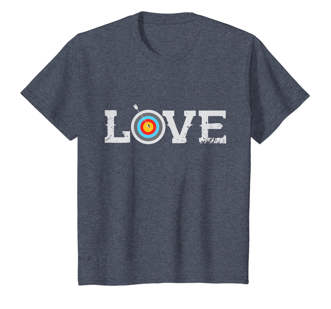 Bow Hunting Archery LOVE Tee Arrow Tshirt