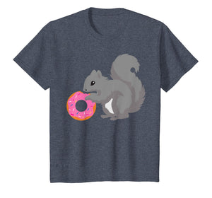 Squirrel T Shirt Donut Doughnut Kids Gift Apparel Costume